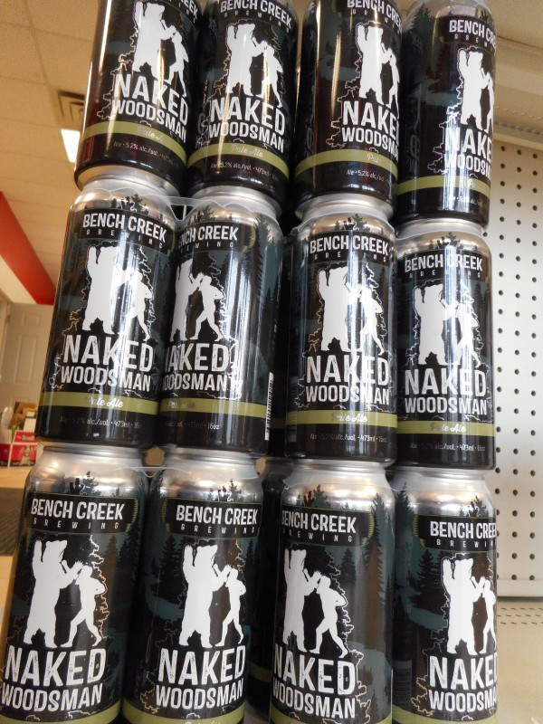 Bench Creek Brewing: Black Spruce Porter, White Raven and